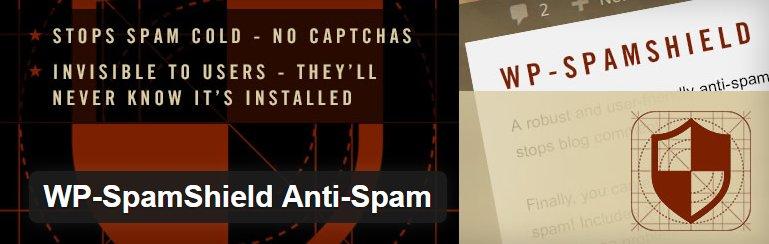 WP-SpamShield Anti-Spam WordPress Plugin