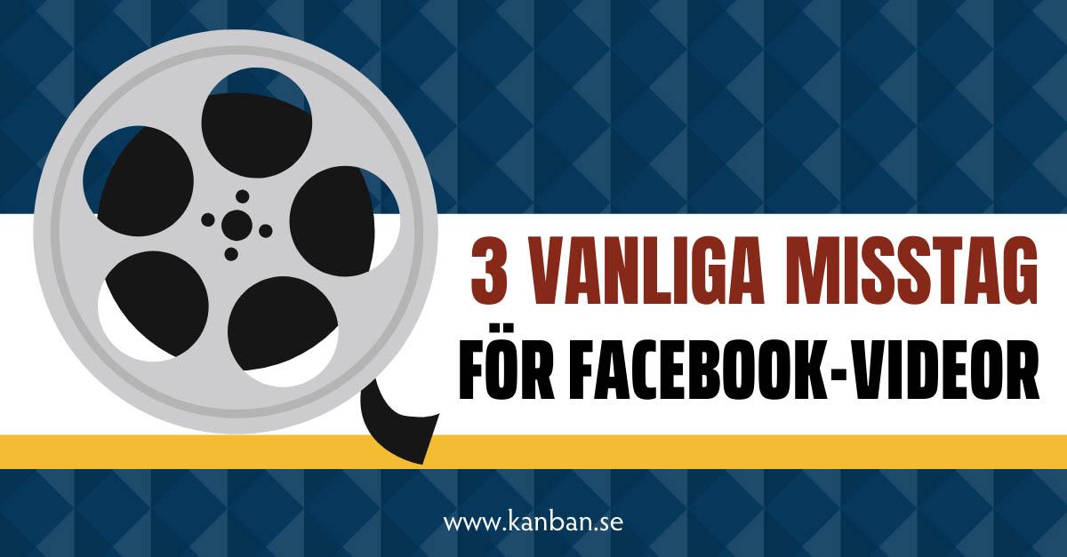 facebook videor annonser