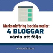 bloggar sociala medier