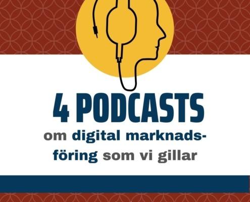 podcasts digital marknadsföring